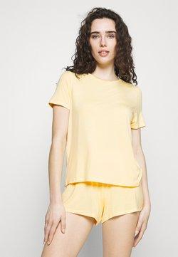 Anna Field - Basic short set - Pyjama - light yellow