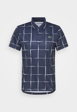 Lacoste Sport - TENNIS GRAPHIC - Funktionsshirt - navy blue/white