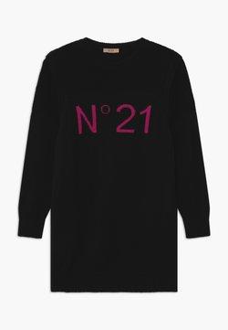 N°21 - ABITO - Strickkleid - black