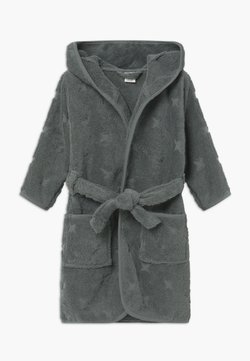 Müsli by GREEN COTTON - BATHROBE BUNNY UNISEX - Bademantel - lagoon green