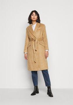 Topshop Petite - MANHATTAN BELTED - Classic coat - camel