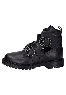 Bronx - Cowboy-/Bikerlaarsjes - black