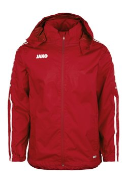 JAKO - STRIKER 2.0 ALLWETTERJACKE HERREN - Outdoorjas - chili rot / weiss