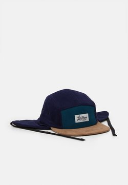 Lil'Boo - CORDUROY BLOCK  PANEL EARS - Cap - green/blue