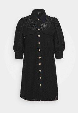 Vero Moda Petite - VMHENNY DRESS - Robe chemise - black