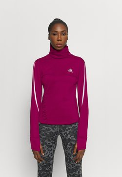 adidas Performance - COVER UP  - Funktionsshirt - power berry