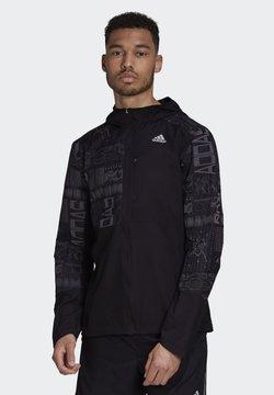 adidas Performance - OWN THE RUN REFLECTIVE JACKET - Chaqueta de entrenamiento - black