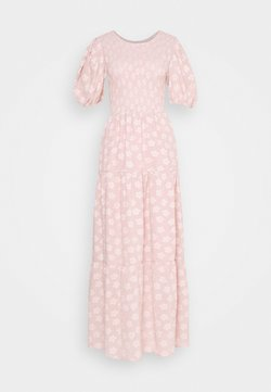 Sister Jane - MOTHER'S MIND TIERED MIDI DRESS - Maxikjoler - pink