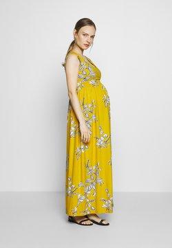 JoJo Maman Bébé - FLORAL MATERNITY & NURSING - Maxiklänning - yellow