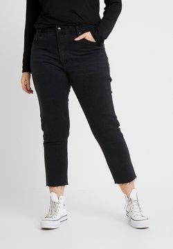 ONLY Carmakoma - CARMILY - Straight leg jeans - black denim