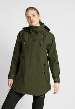 Helly Hansen - VALENTIA RAINCOAT - Hardshelljacke - forest night
