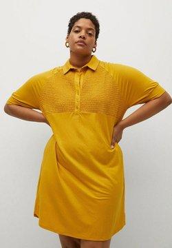 Violeta by Mango - CAMILO - Shirt dress - senfgelb
