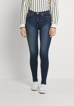 Tommy Jeans - SYLVIA SUPER - Jeansy Skinny Fit - knox dark blue