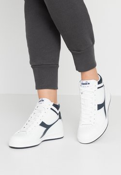 Diadora - GAME  - Sneakers hoog - white/blue denim