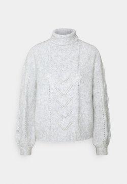 NAF NAF - ALMERINDA - Strickpullover - gris clair chine
