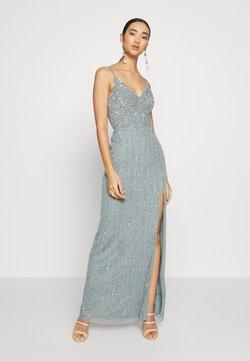 Lace & Beads - MUNA MAXI - Ballkleid - light teal