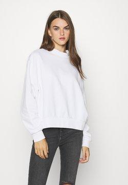 Weekday - AMAZE  - Sweatshirt - white