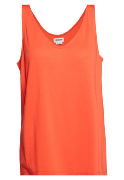 Weekday - ABBY V NECK TANK - Top - bright red