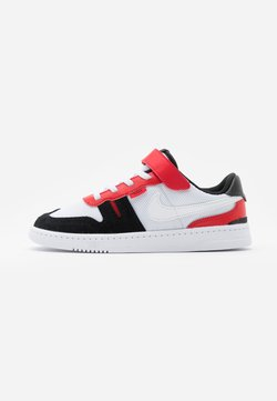 Nike Sportswear - SQUASH-TYPE UNISEX - Sneakers laag - white/black/universitiy red