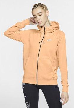 Nike Sportswear - veste en sweat zippée - orange chalk/white