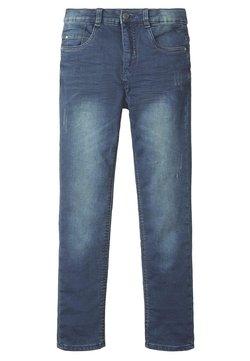TOM TAILOR - Straight leg jeans - blue/black denim