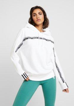 adidas Originals - R.Y.V. LOGO HODDIE SWEAT - Kapuzenpullover - white