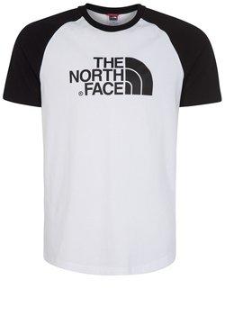 The North Face - RAGLAN EASY TEE - T-Shirt print - white/black