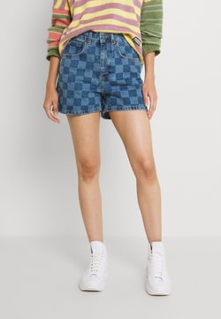 The Ragged Priest - RAVE - Shorts di jeans - blue