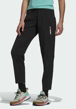 adidas Performance - TERREX LITEFLEX HIKING TRACKSUIT BOTTOMS - Jogginghose - black
