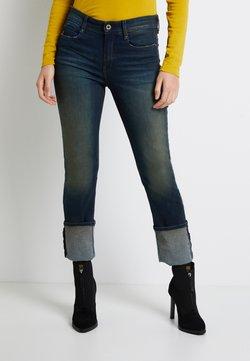 G-Star - NOXER HIGH STRAIGHT WMN - Jeans Straight Leg - antic blight green