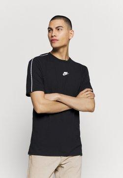 Nike Sportswear - REPEAT - T-shirt con stampa - black
