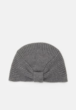 Johnstons of Elgin - TURBAN - Beanie - granite