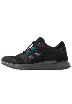 ECCO - EXOSTRIDE  - Hikingschuh - black/olympian blue