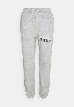 Urban Threads - SUPER RELAXED UNISEX - Jogginghose - grey