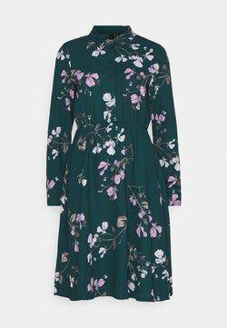 Vero Moda - VMANNIE DRESS - Blusenkleid - ponderosa pine