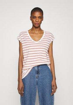 GAP - AUTH TEE - T-Shirt print - red