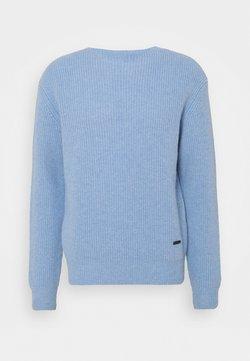 The Kooples - Stickad tröja - baby blue
