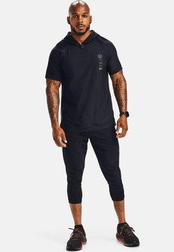Under Armour - UA RUN ANYWHERE - 3/4 sports trousers - black