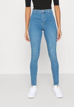 Topshop - CAST JONI - Jeans Skinny Fit - blue