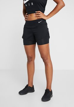 Nike Performance - ECLIPSE 2 IN 1 - kurze Sporthose - black