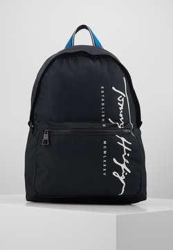 Tommy Hilfiger - SIGNATURE BACKPACK - Reppu - black