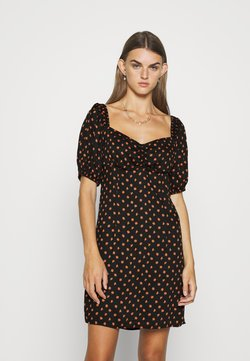 Envii - ENJULIET DRESS - Korte jurk - meadow saffron