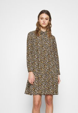 JDY - JDYPIPER DRESS - Blusenkleid - black/yellow