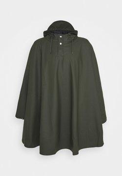 Rains - UNISEX CAPE - Regenjacke / wasserabweisende Jacke - green