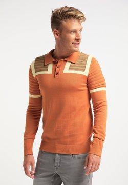 Mo - Stickad tröja - orange