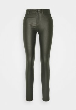 Vila - VICOMMIT COATED NEW PANT - Jeans Skinny Fit - carry over