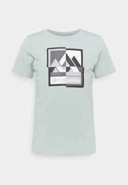 Columbia - ALPINE WAY™ GRAPHIC TEE - T-Shirt print - grey heather mash up