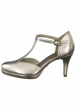 Tamaris - PUMPS - Classic heels - light gold