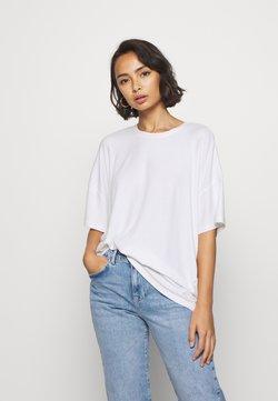 Even&Odd Petite - T-shirt basic - white