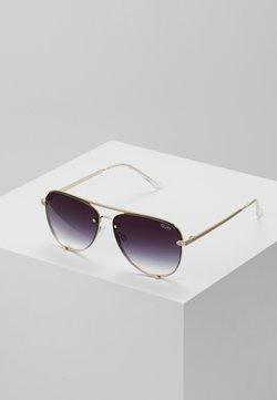 QUAY AUSTRALIA - HIGH KEY MINI RIMLESS - Gafas de sol - gold-coloured/black